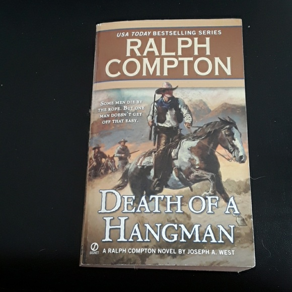 Death of a Hangman Western Book